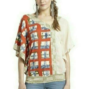 Anthropologie - Vanessa Virginia Kimono Style Top